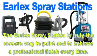 Earlex Spray Stations