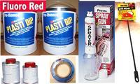 Fl Red PDip3.78 Sml Car Kit