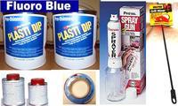 Fl Blue PDip3.78 Sml Car Kit