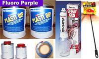 Fl Purple PDip3.78 Sml Car Kit
