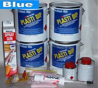 Blue UV Lge Car Kit 3.78