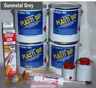 Gunmetal UV Lge Car Kit 3.78