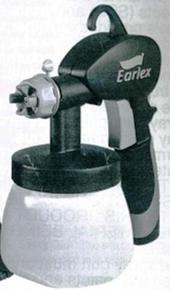 Earlex Bagged VGun 1.5mm Black