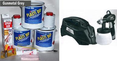 Gunmetal UV Med Car Kit +SGun