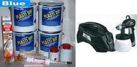 Blue UV Lge Car Kit +SGun