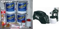 Clear UV Lge Car Kit +SGun