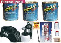 Fierce Pink UV Med Car Kit +SG