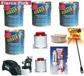 Fierce Pink UV Lge Car Kit +SG