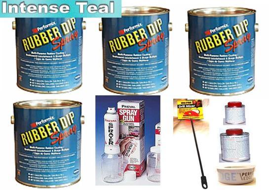 Product Details Intense Teal Uv Lge Car Kit