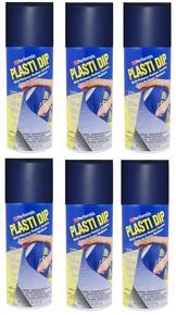 Navy Blue Plasti Dip Aero x 6