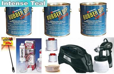 Intense Teal UV Med Car Kit+SG