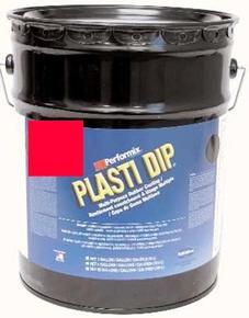 Fl Red Plasti Dip 18.9Ltr