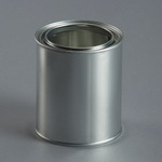 500ml Empty Metal Can c/w lid