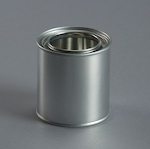 250ml Empty Metal Can & Lid