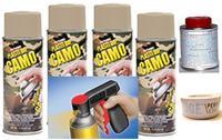 Camo Tan Aero Wheel Kit