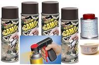 Camo Brn Aero Wheel Kit