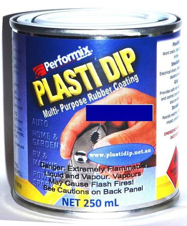 Product Details Fluoro Blue Plasti Dip 250ml