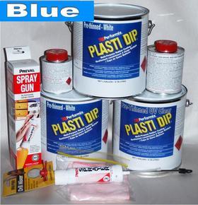 Blue Plasti DipUV Car Kit 3.78
