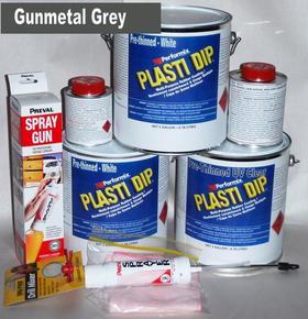 Gunmetal Grey Plasti DipUV Car