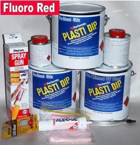 Fl Red Plasti Dip Car Kit 3.78