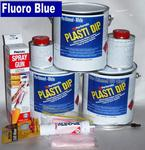 Fl Blue PDip 3.78 Med Car Kit
