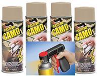 Camo Tan Aero 4 + Can Gun