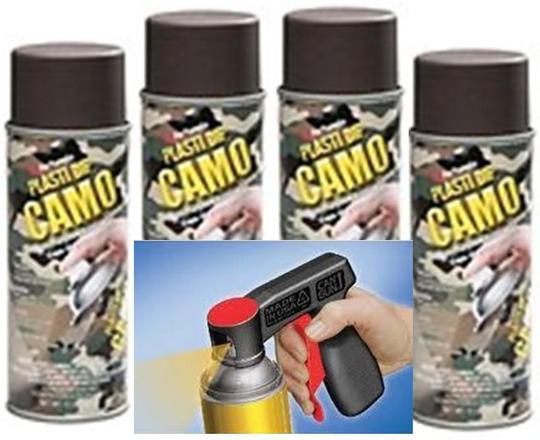 Product Details Camo Brn Aero 4 Can Gun