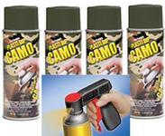 Camo Grn  Aero 4 + Can Gun