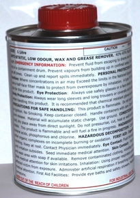 Wax & Grease Remover 1ltr