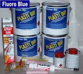 Fl Blue PDip Lge Car Kit 3.78