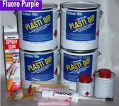 Fl Purple PDip Lge Car Kit3.78