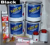 Black UV Lge Car Kit 3.78