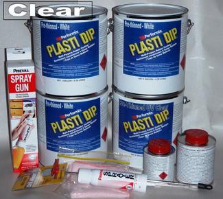 Clear UV Lge Car Kit 3.78