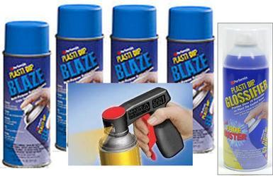 Bl Blue Aero 4+1 Gloss+Cgun